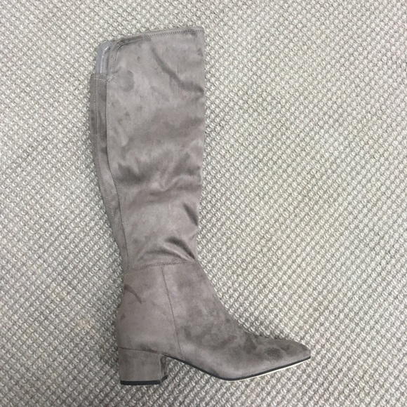 2bf8f36d772 Marc Fisher Inspect over the knee boot gray